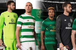 Maglie Celtic 2017-2018 New Balance