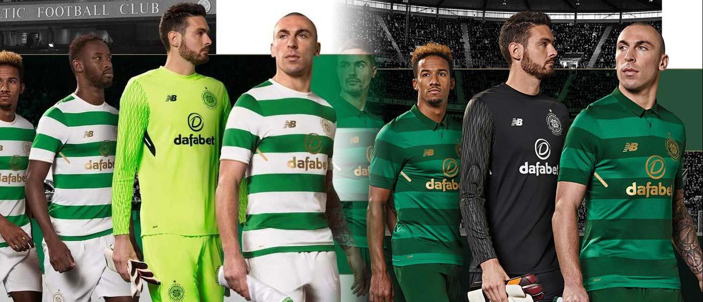 Maglie Celtic 2017-2018 New Balance