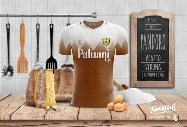 Chievo Verona FoodBall Kit Pandoro