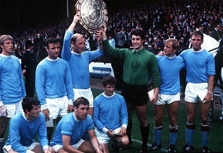 I campioni del Manchester City nel 1968