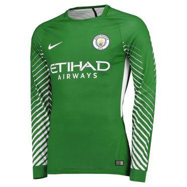 Maglia portiere Manchester City verde 2017-18