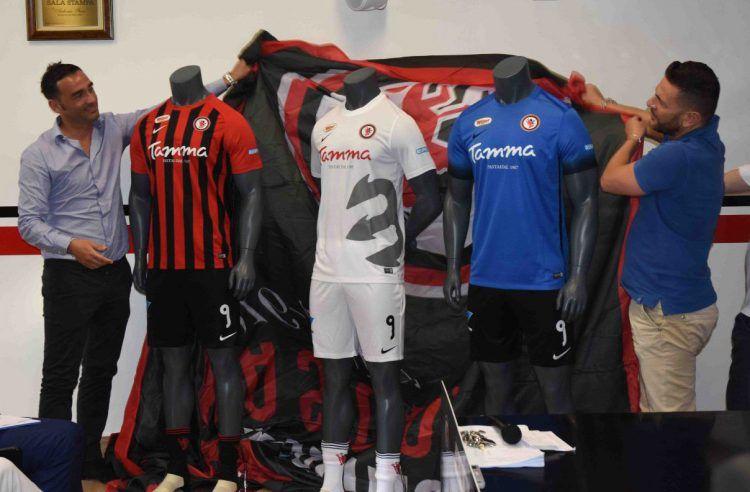 Le divise del Foggia per la Serie B 2017-2018