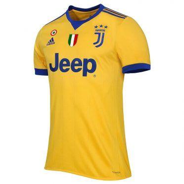 Seconda maglia Juventus 2017-2018 giallo blu