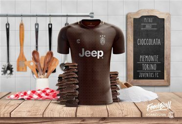 Juventus FoodBall Kit Cioccolata