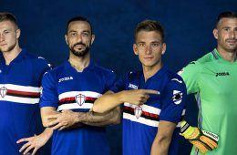 Nuova maglia Sampdoria 2017-2018 Joma