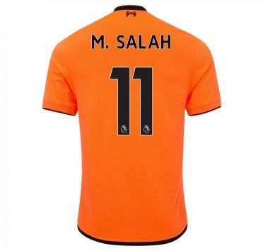 Liverpool, terza maglia Salah 11