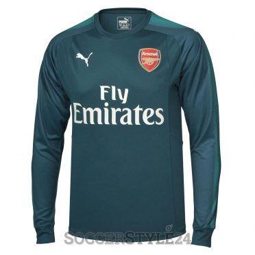 Maglia portiere Arsenal 2017-2018 verde