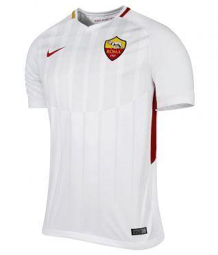 Seconda maglia Roma 2017-2018 bianca