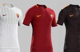 Maglie Roma 2017-2018 Nike