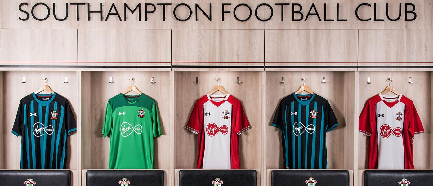 Maglie Southampton 2017-18 Under Armour