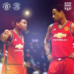 Manchester United Toronto Raptors NBA