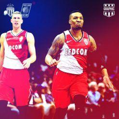 Monaco Portland Trail Blazers NBA