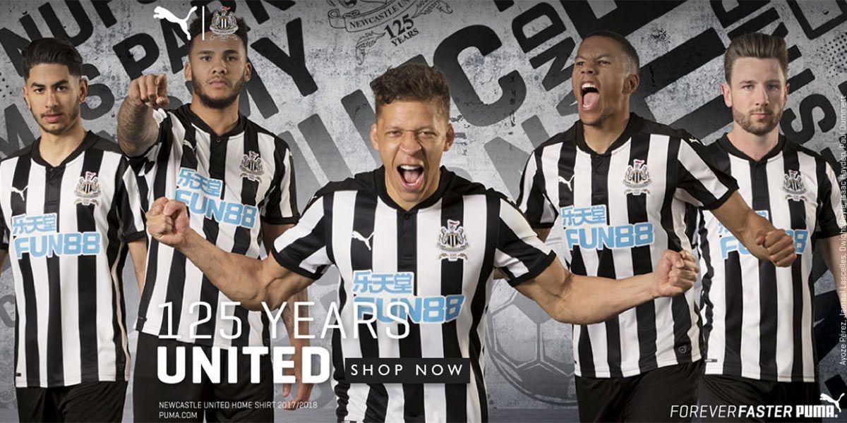 Nuova maglia Newcastle 2017-2018