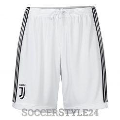 Pantaloncini Juventus home 2017-18 bianchi