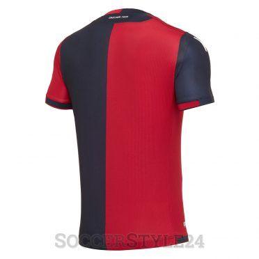 Il retro della maglia del Cagliari home 2017-18