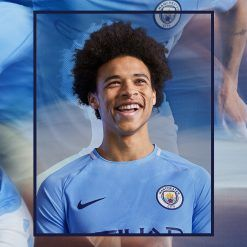 Sane Manchester City kit Nike 2017-18