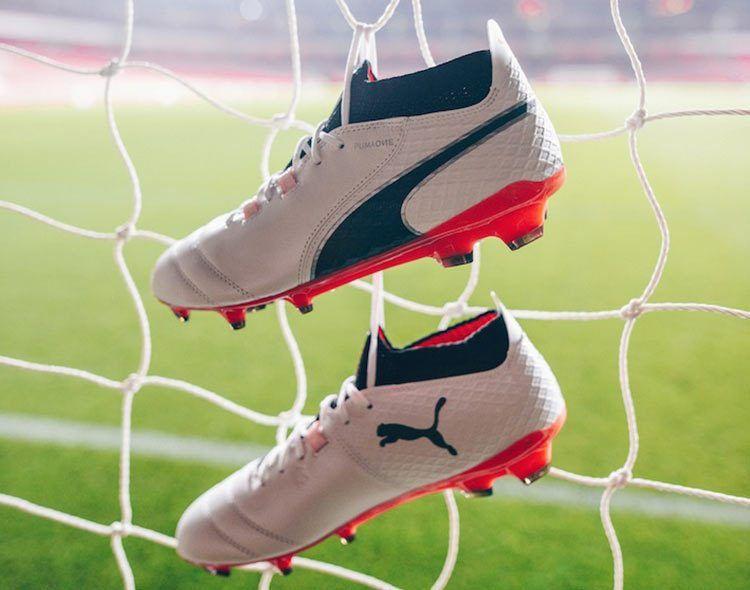 Puma One, scarpe da calcio in pelle