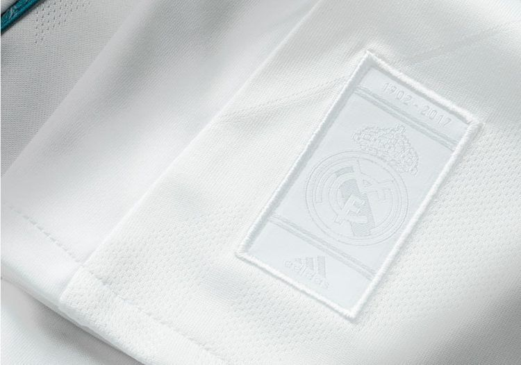 Stemma Real Madrid 115 anni celebrativo