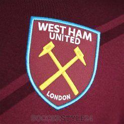 Stemma West Ham ricamato sul petto