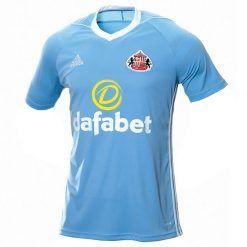 Seconda maglia Sunderland 2017-2018