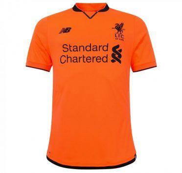 Terza maglia Liverpool 2017-2018 arancione