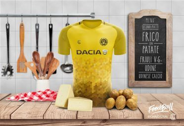 Udinese FoodBall Kit Frico Patate