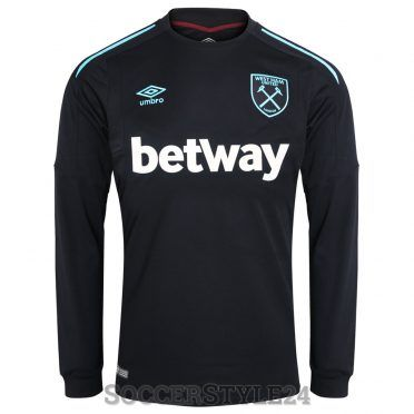 Maglia West Ham away 2017-18 black
