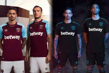 Le maglie del West Ham 2017-2018