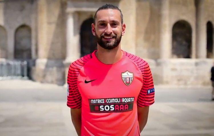 Maglia portiere Ascoli 2017-2018