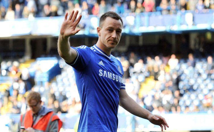 Terry in maglia Chelsea