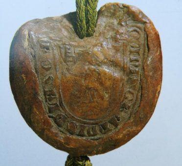Sigillo medievale Cangrande della Scala