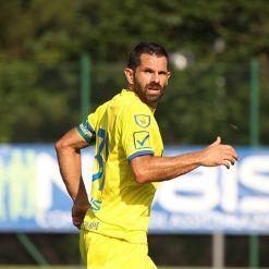 Pellissier con la nuova maglia del Chievo 2017-18