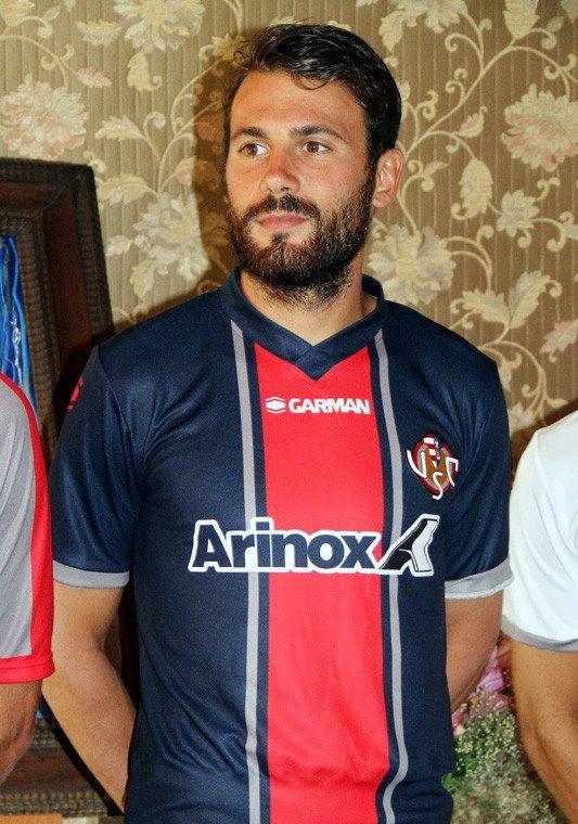 Terza maglia Cremonese 2017-2018 blu