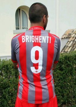 Maglia Cremonese home Brighenti 9