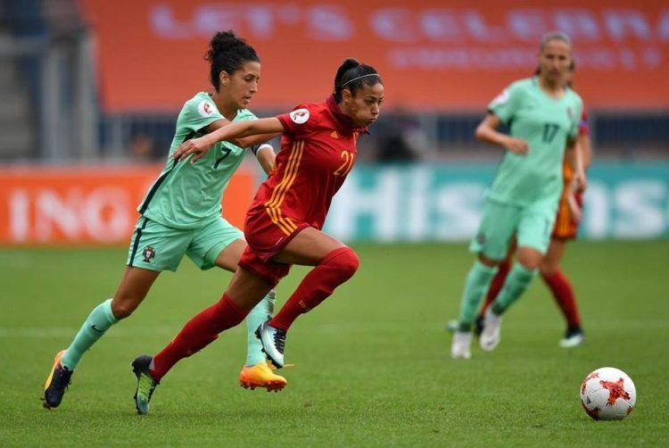 Spagna, kit home Euro 2017 donne