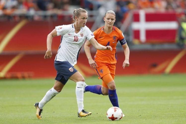 Kit Norvegia away 2017 femminile