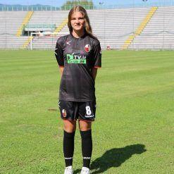 La terza maglia della Lucchese vestita da Silvia Bianchini