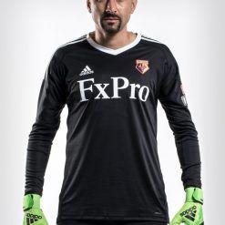 Maglia portiere Watford nera 2017-2018