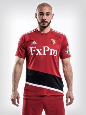Seconda maglia Watford 2017-2018 rossa