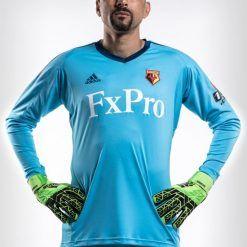 Watford maglia portiere celeste 2017-2018