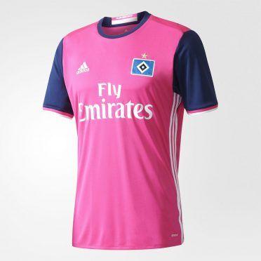 Terza maglia Amburgo 2017-2018 rosa