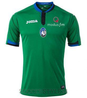 Terza maglia Atalanta 2017-2018 verde