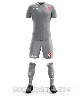 Divisa portiere Bari grigia 2017-18