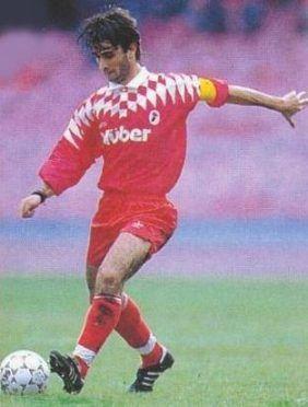 Emiliano Bigica, 1994-1995 Bari maglia rossa