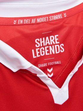 Danimarca Home Speciale 1992-2017, Colletto, Share Legends