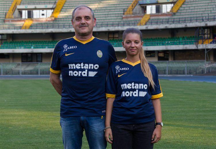 Divisa Hellas Verona home 2017-18