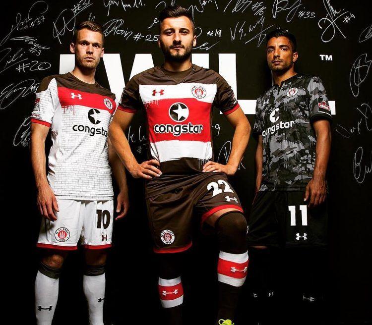 Le nuove divise del St. Pauli 2017-18