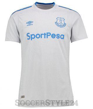 Seconda maglia Everton 2017-2018 bianca