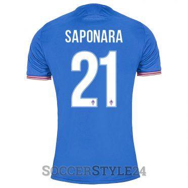 Maglia Saponara 21 Fiorentina azzurra