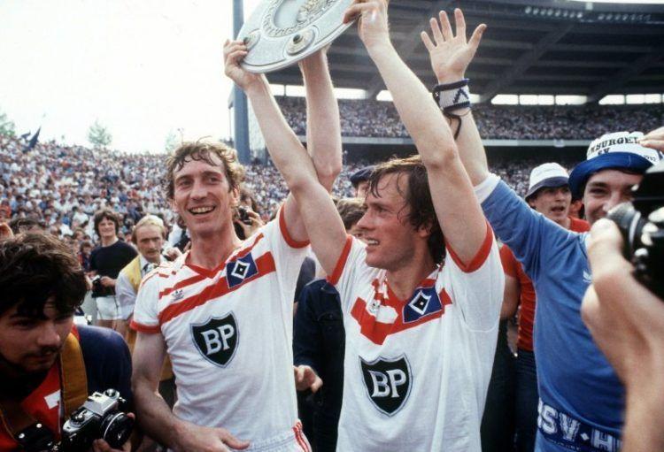 L'Amburgo campione di Germania nel 1983